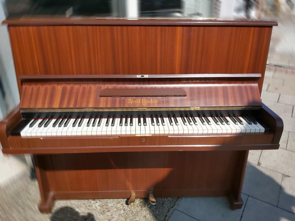 BOYD Mahogany refurbished upright 03