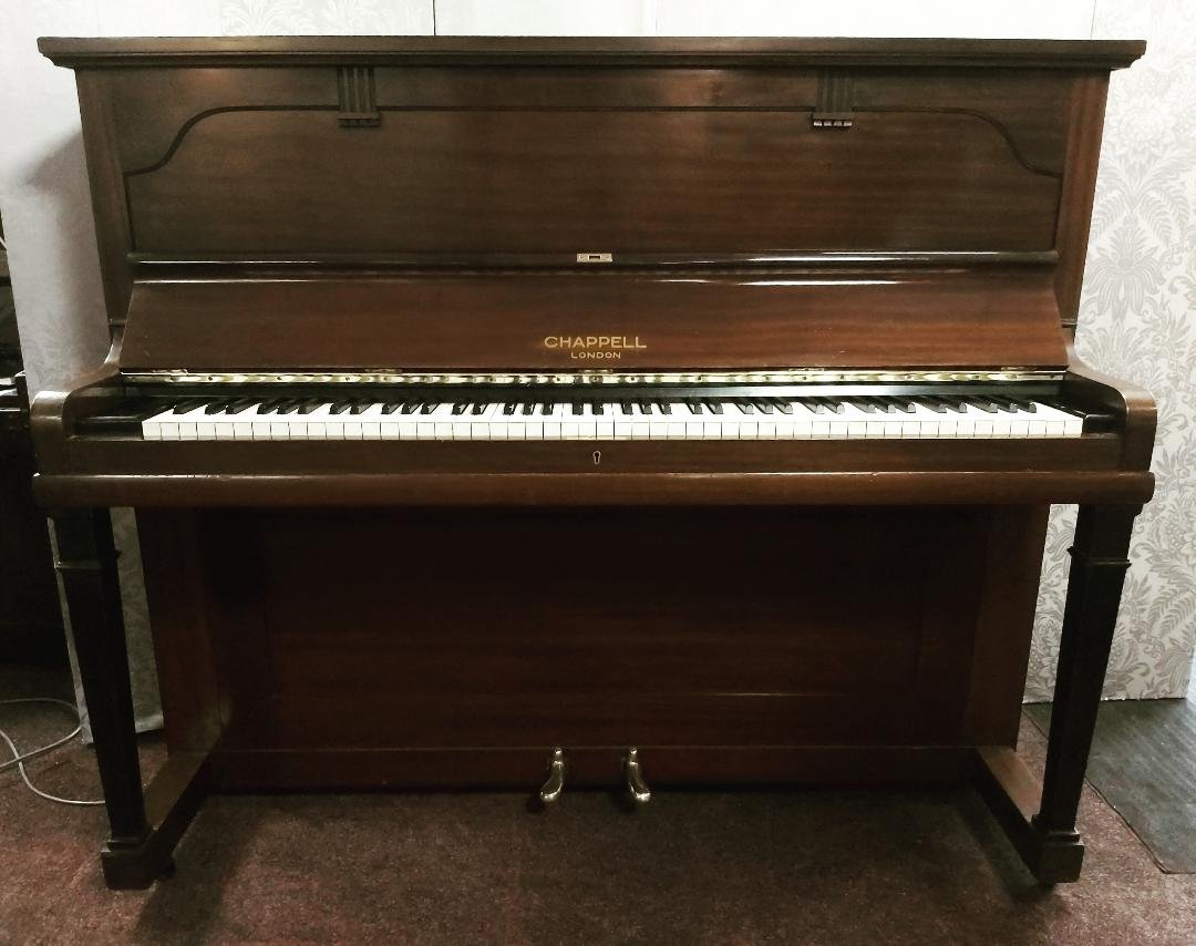 CHAPPELL upright piano 1930s 08