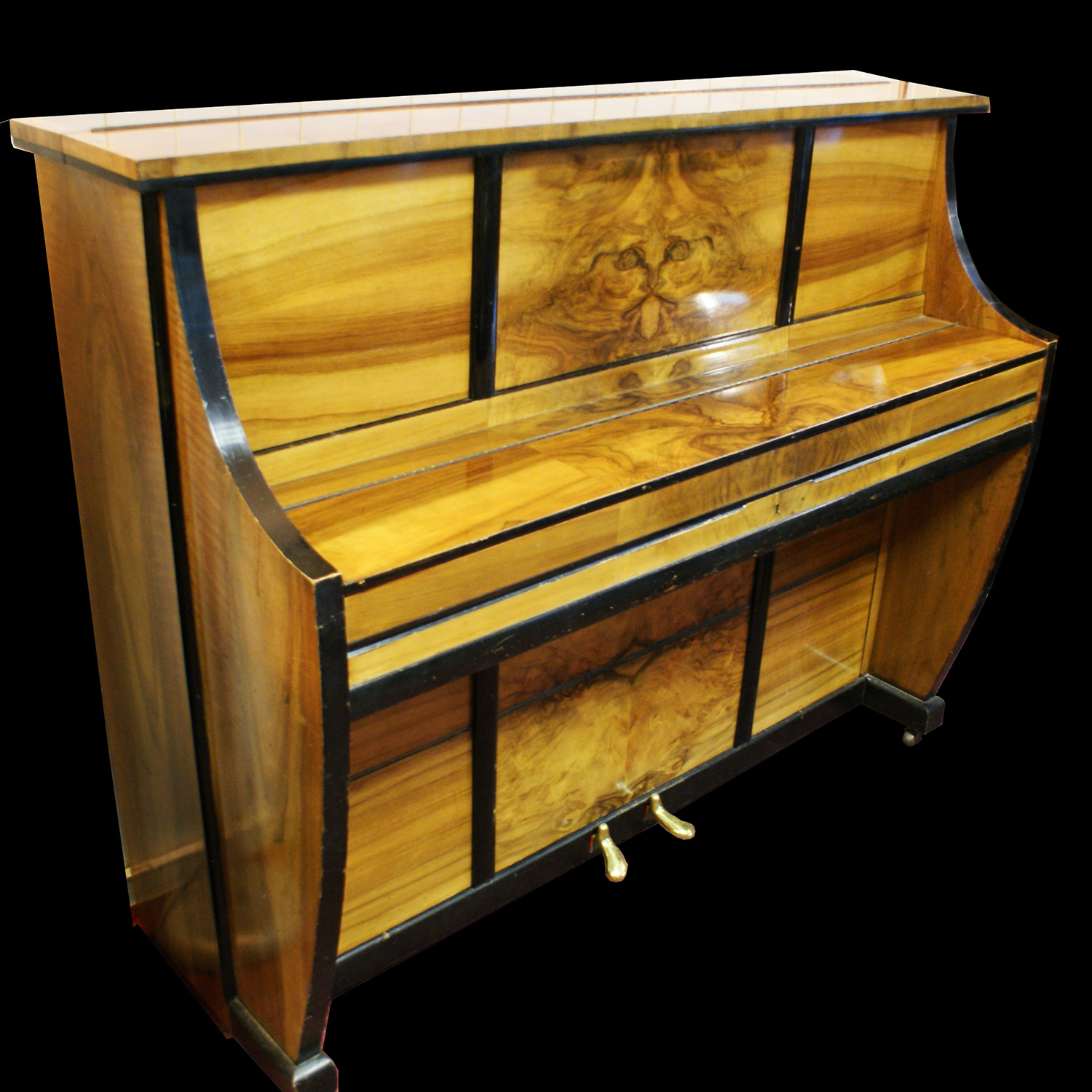 Waldberg Art Deco Piano - Crazy Cat