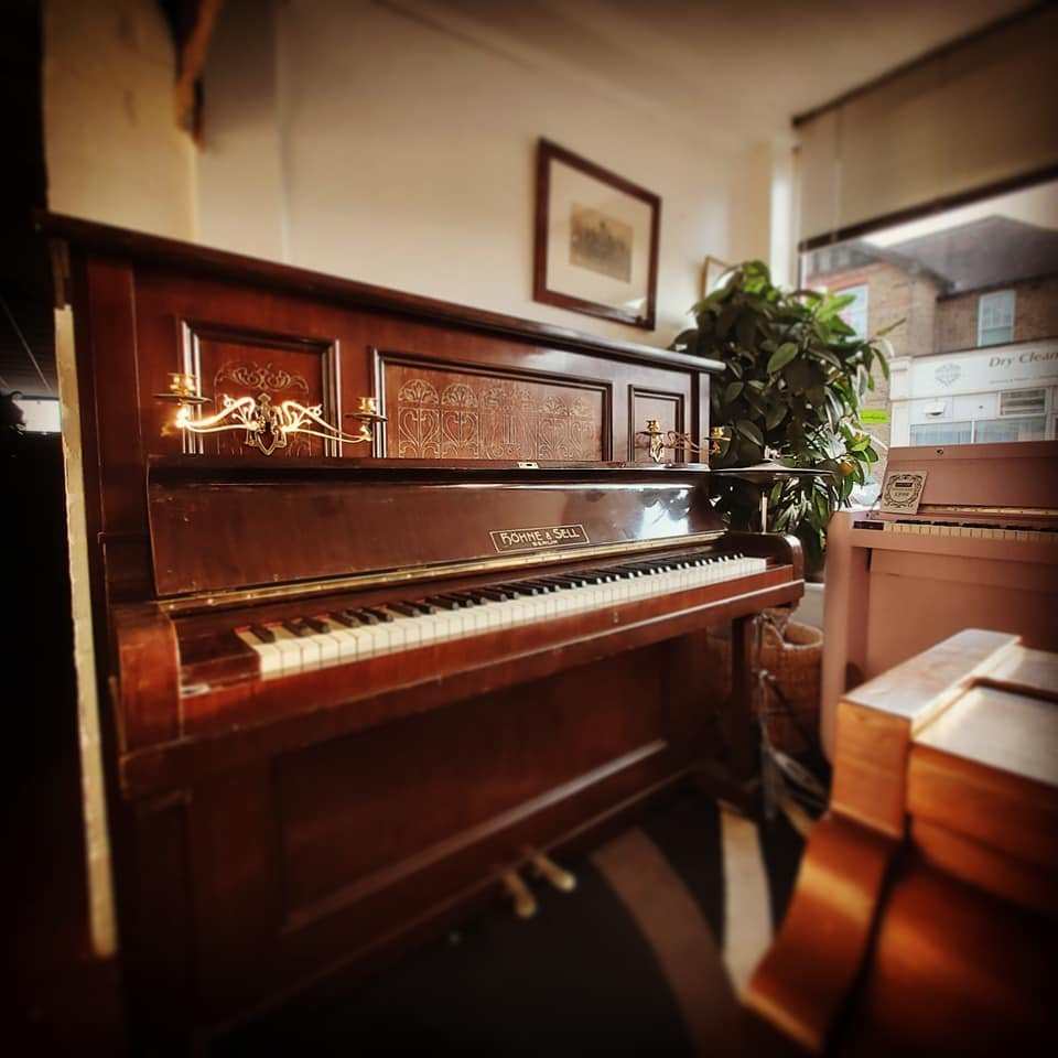 HOHNE & SELL Jugendstil upright piano for sale 10