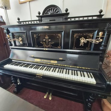 Ibach Art Nouveau upright piano for sale