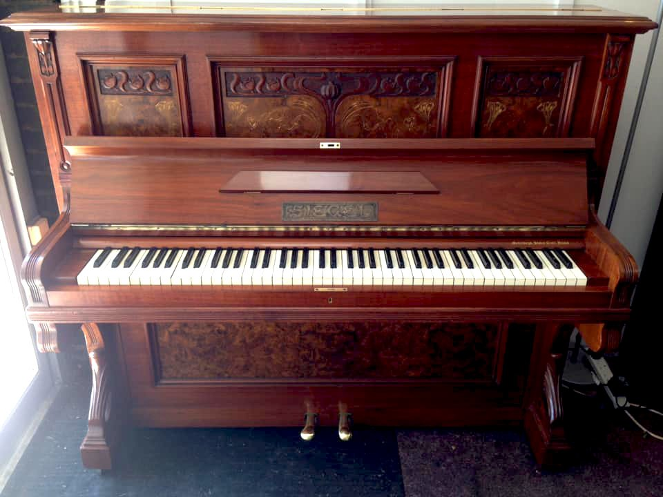 SIEGEL Art Nouveau piano 07