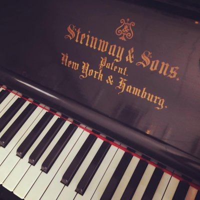 Steinway Model R upright piano