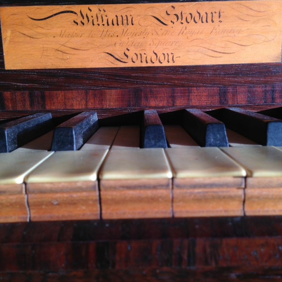 STODART Upright piano 02