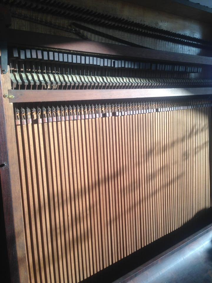 STODART Upright piano 06